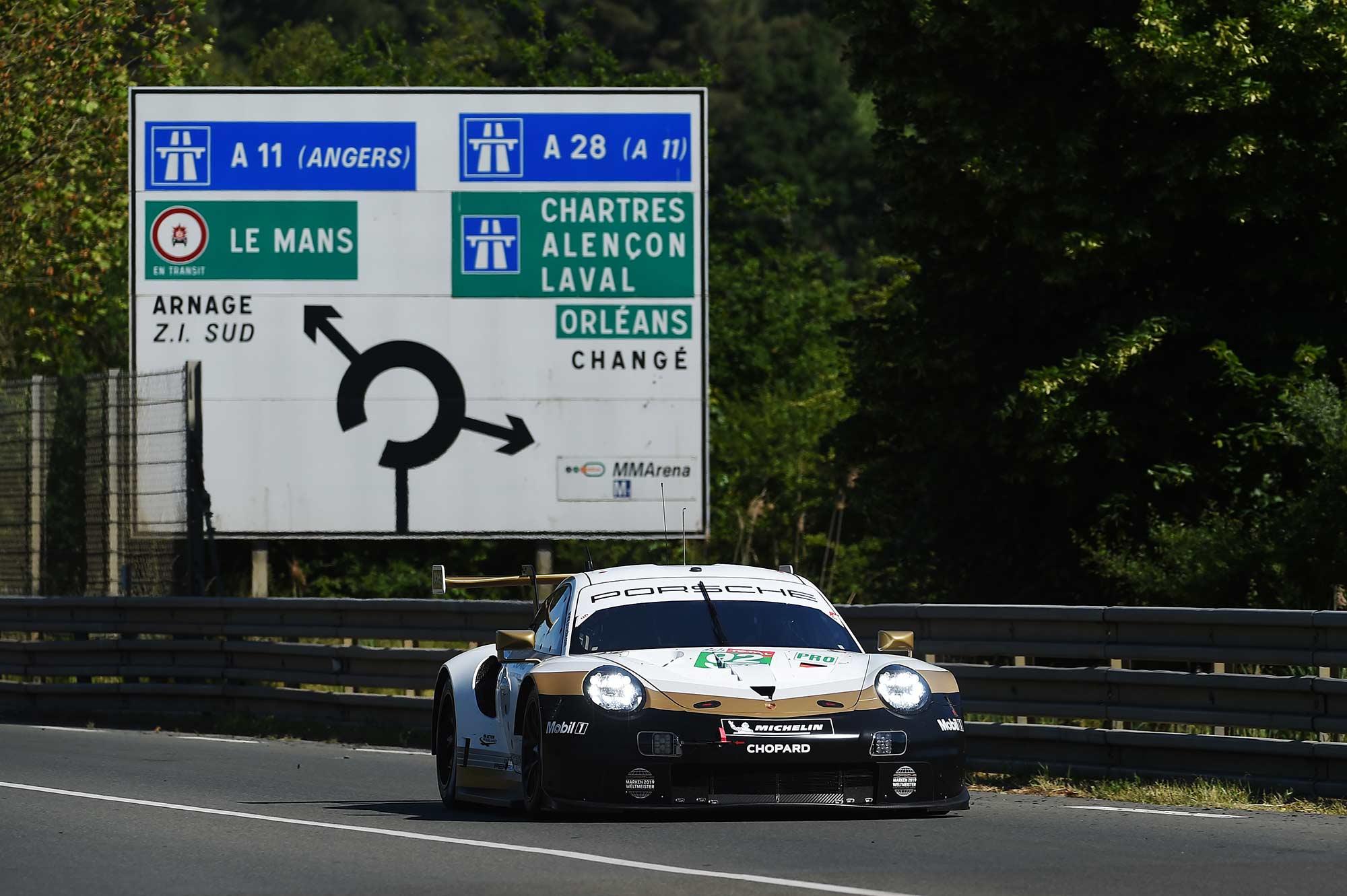 Kévin Estre Le Mans 2018
